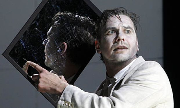 Michael Maertens als Richard  II. im Burgtheater