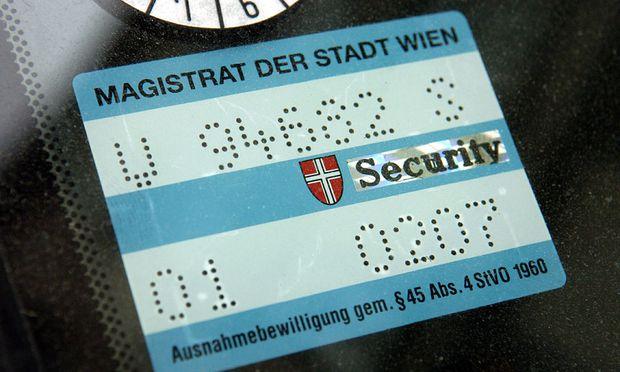 Lizenz Dauerparken