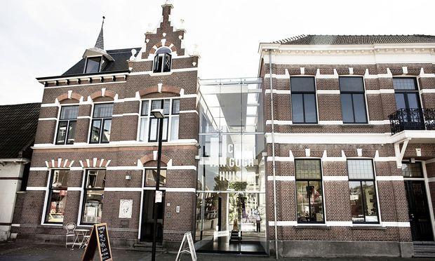 Quer durch Brabant zu Vincent van Goghs Orten: Van Gogh-Haus in Zundert.