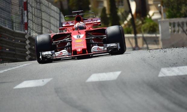 Dämpfer für Vettel und Hamilton im Baku-Training