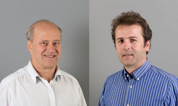 Die beidenGeschäftsführer von A3 Jenewein: Rainer Purtscheller (l.) und Robert Steyer.