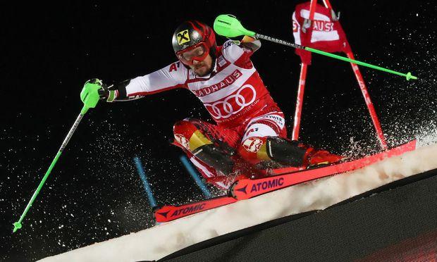 Mikkaela Shiffrin holt sich auch Slalom-Sieg in Stockholm. / Bild: GEPA pictures