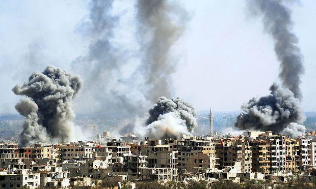 Trump relativiert Angriffspläne auf Syrien