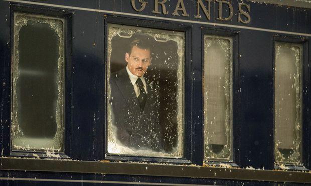 Im Orient-Express reist ein illustres Schauspielerensemble (im Bild: Johnny Depp).