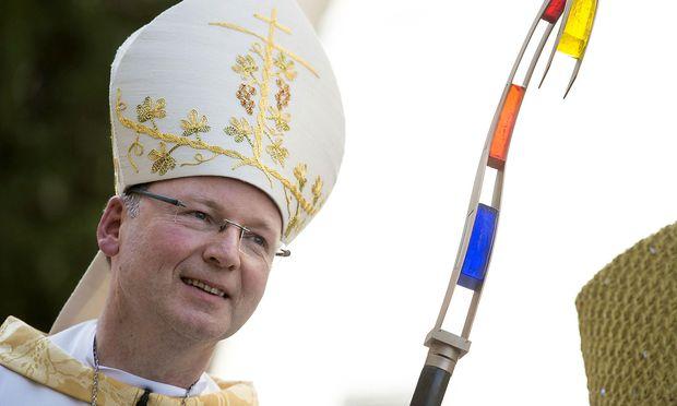 Archivbild: Der Feldkircher Diözesanbischof Benno Elbs bei seiner Bischofsweihe 2013