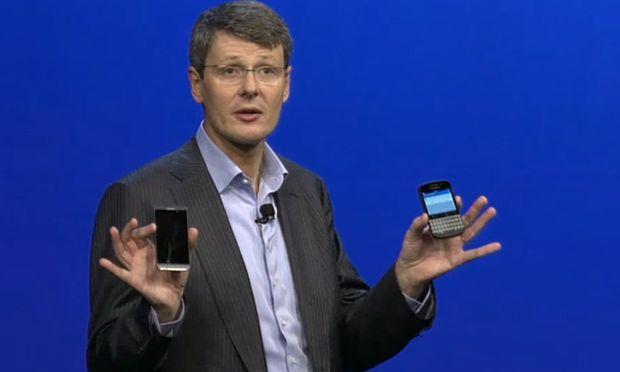 Blackberry stellt neue Smartphones Z10 und Q10 vor