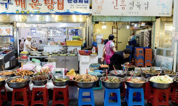 Schmecken oft besser, als man es erwartet: Spezialitäten aus Koreas Küche.