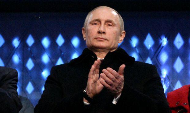 OLYMPIA - Olympische Spiele 2014 - Putin