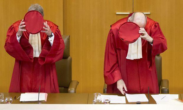 Archivbild der Richter des Bunesgerichtshof in Karslruhe.