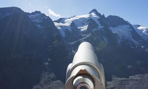 Die Gletscher sind derzeit außergewöhnlich schneereich.