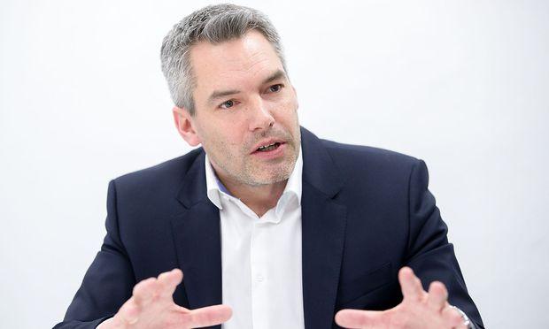 Karl Nehammer soll die ÖVP künftig nach außen vertreten