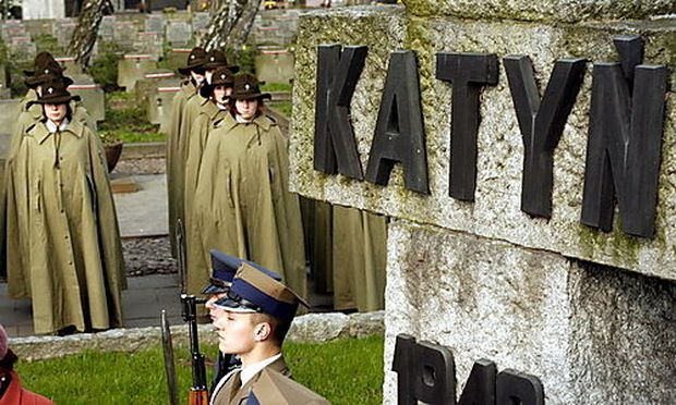 KatynMassaker Polen nimmt erstmals