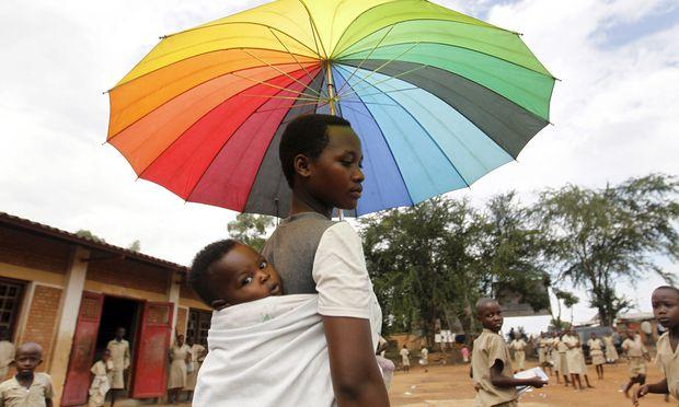 Afrikas großes Dilemma: Wenn die Bevölkerung schneller wächst als die Wirtschaft, wächst die Armut. / Bild: (c) REUTERS (Thomas Mukoya)