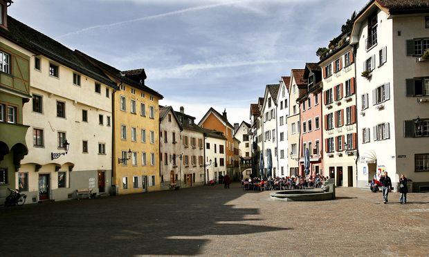 Start der Töffli-Tour ist mitten im Graubündner Chur.