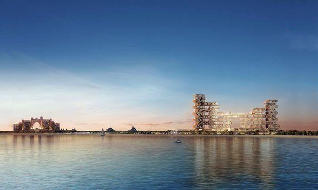 Spektakuläre Landmark: Das Royal Palm Atlantis in Dubai.