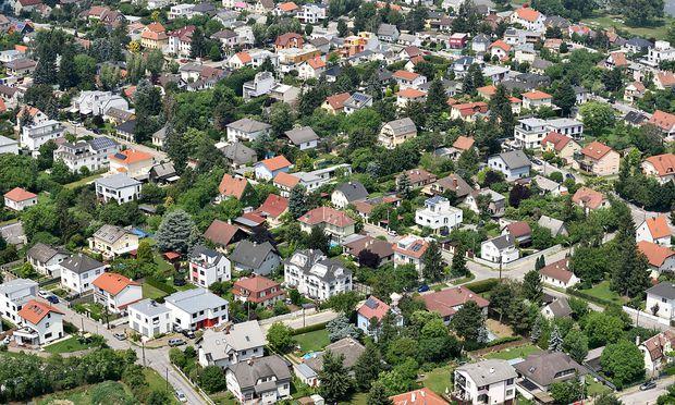 Symbolbild Luftaufnahme Häuser