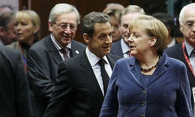 Die deutsche Bundeskanzlerin Merkel zeigte sich mit den Gipfel-Ergebnissen sehr zufrieden