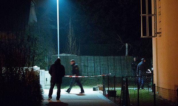 Archivbild: In Wien-Floridsdorf wurde der Angeklagte im März 2015 bei einem Schusswechsel mit der Polizei verletzt.