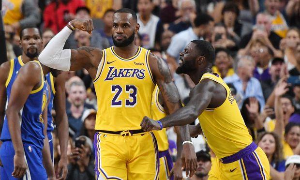 NBA-Superstar LeBron James soll die Los Angeles Lakers zum ersten Meistertitel seit 2010 führen.