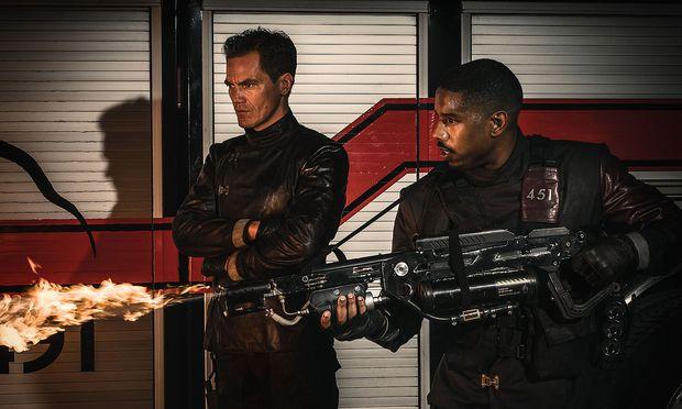 """Fahrenheit 451"", neu verfilmt – mit Michael B. Jordan und Michael Shannon."