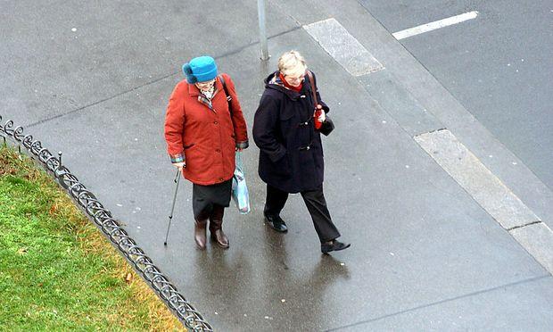 Pensionen: Zweiklassengesellschaft zementiert