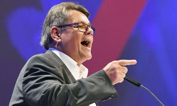 Wolfgang Katzian gibt sich zu Beginn seiner ÖGB-Präsidentschaft kampfeslustig.