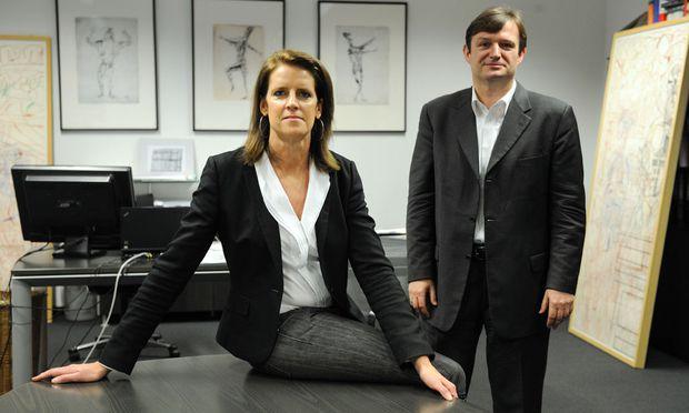 Hanna Kordik und Gerhard Hofer