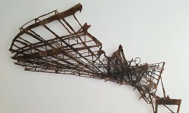 Die Wiener Galerie Ulrike Hrobsky ist auf der Paper Positions und zeigt unter anderem Arbeiten von Tilmann Zahn.