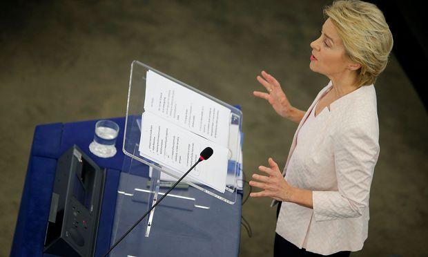 Ursula von der Leyen bewirbt sich für den Posten der EU-Kommissionspräsidentin.