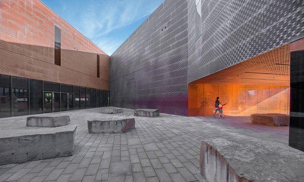 Kunstwille. Das de Young Memorial Museum, Teil der Fine Arts Museums, wurde von Herzog & de Meuron geplant.