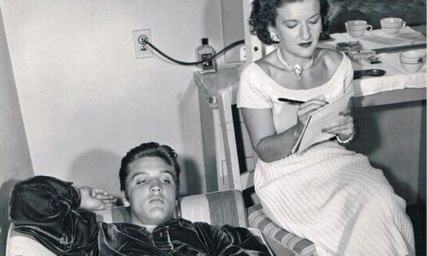 Trude Forsher sah sich auch in der Arbeit mit Elvis Presley in erster Linie als Autorin.