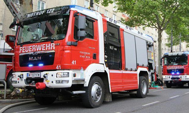 Brand in einem Hochhaus in Wien-Favoriten fordert einen Toten (Symbolbild)