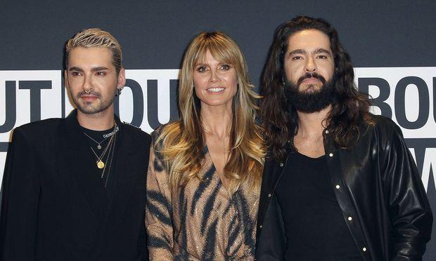Bill Kaulitz, Heidi Klum und Tom Kaulitz