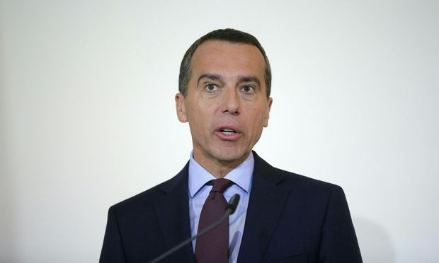 Kanzler Christian Kern (SPÖ)