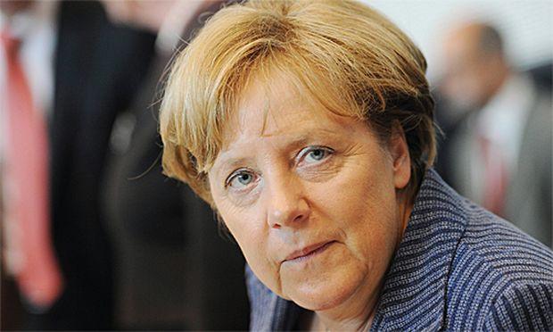 Die deutsche Kanzlerin Angelika Merkel