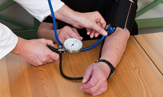 Archivbild. Bluthochdruck ist einer der Hauptrisikofaktoren für Herzkrankheiten und Schlaganfälle.