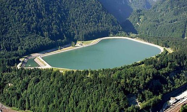 Die Wasserkraftwerke wurde teilweise aufgewertet
