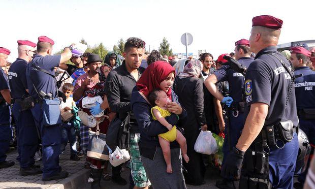 HUNGARY CROATIA REFUGEES MIGRATION CRISIS