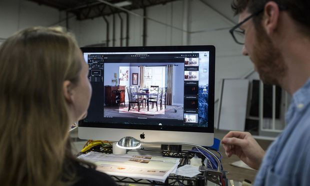 Operations Inside America's Largest Online-Only Furniture Seller Wayfair Inc. Facility