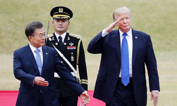 Trump: Nordkorea soll an den Verhandlungstisch kommen