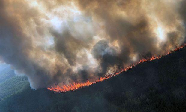 Waldbrände Alaska Karte.In Der Arktis Brennt Es Seit Wochen Diepresse Com