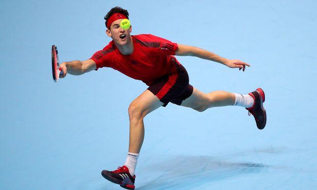 Österreichs Nummer eins Dominic Thiem sucht in London Form und Schläge.