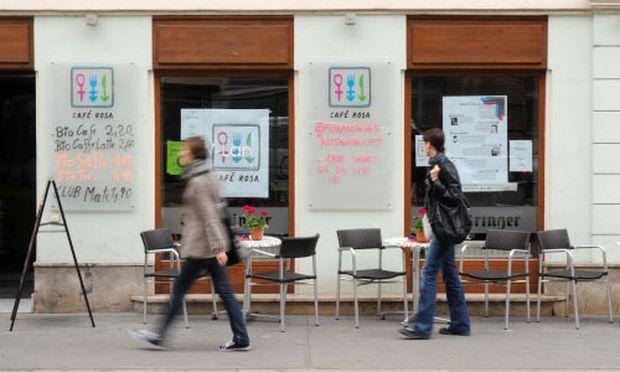 Cafe Rosa Pleitegeier ueber