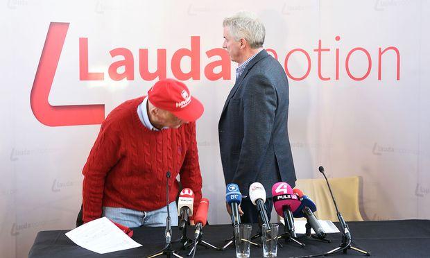 Niki Lauda und Michael Kevin O'LearyNiki Lauda und Michael Kevin O'Leary