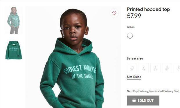 Umstrittenes Werbesujet von H&M