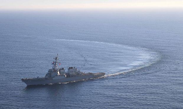 Die USS Donald Cook schoss nicht.