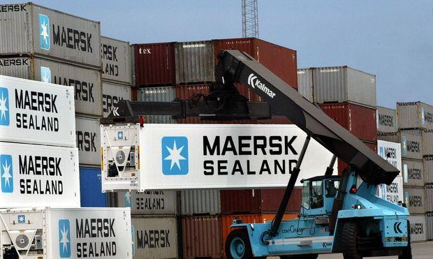 Moeller-Maersk muss deutlichen Gewinneinbruch melden.