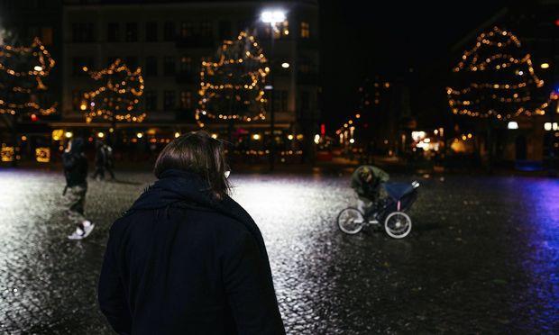 Foto von Katharina am Weihnachtsmarkt