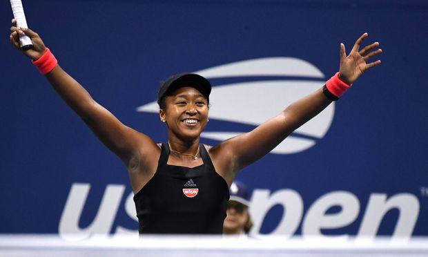 Naomi Osaka steht im Finale der US Open.