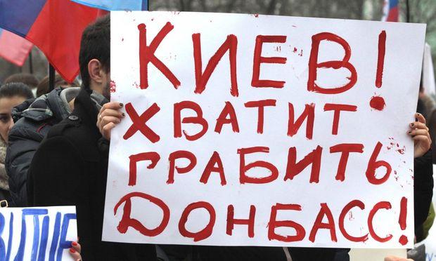 Schienen- und Straßenblockaden in der Ukraine